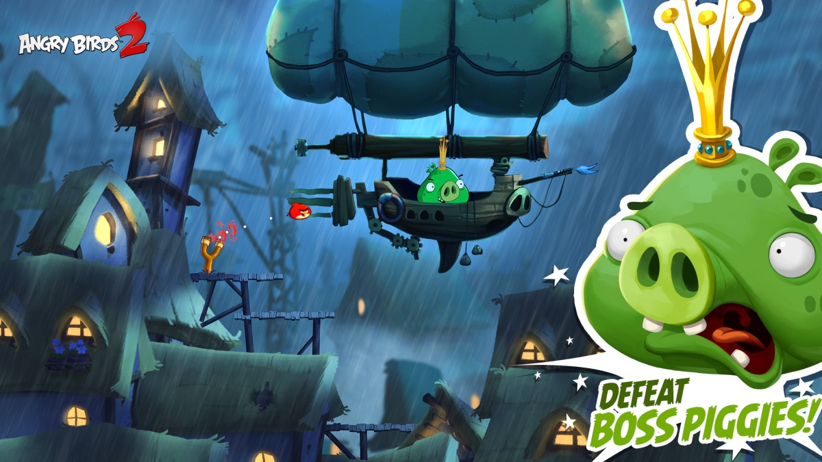 Angry Birds 2 represents all the technical experimentation Rovio has undergone in the past five years.