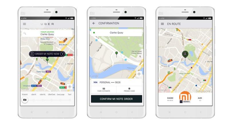 Uber & Xiaomi