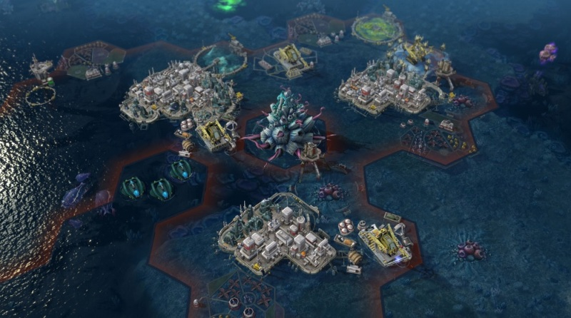 Rising Tide expansion of Sid Meier's Civilization: Beyond Earth has plenty of water.