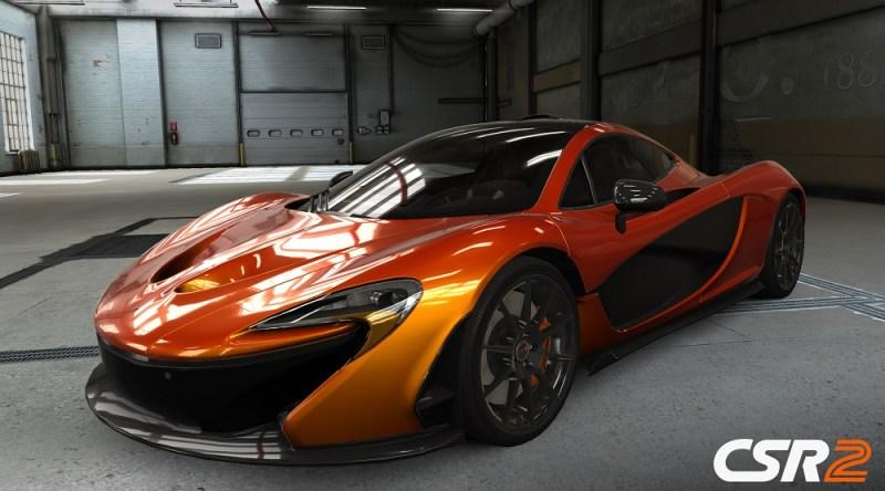 McLaren car in CSR2.