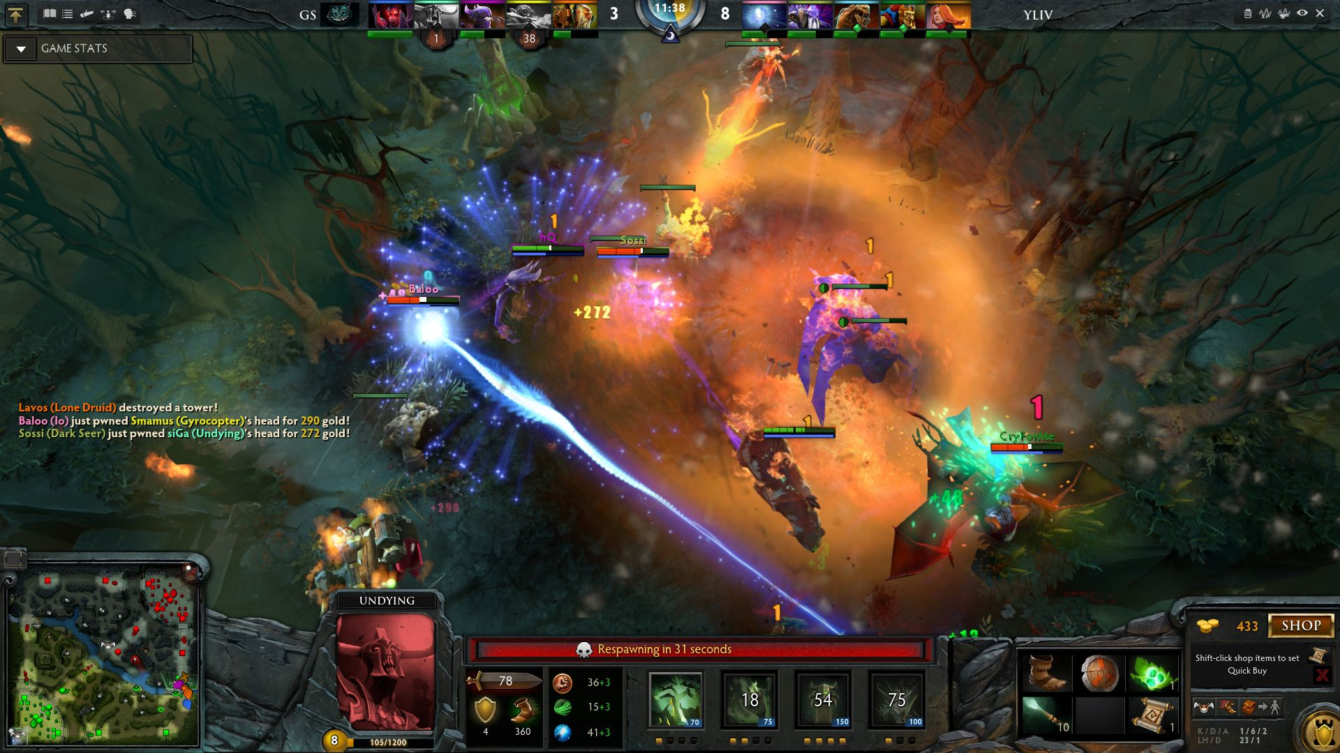 Dota 2: Comparing MOBAs: League Of Legends Vs. Dota 2 Vs. Smite Vs