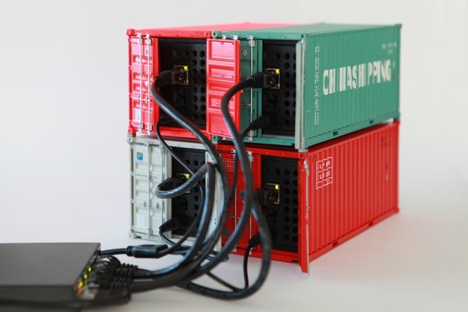 Docker data center