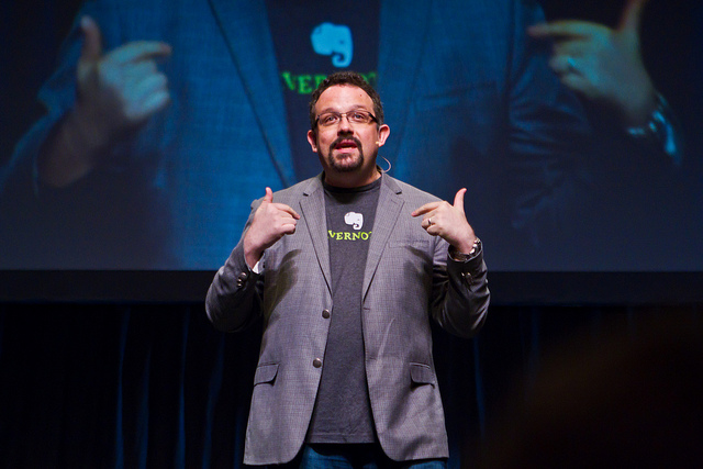 Evernote CEO Phil Libin at Y Combinator's Startup School 2013