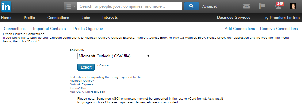 linked_export_contacts_tool