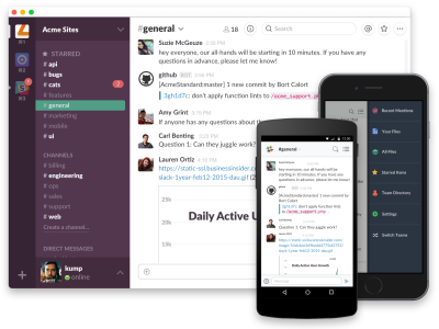 Slack now lets you use emojis to acknowledge or approve a