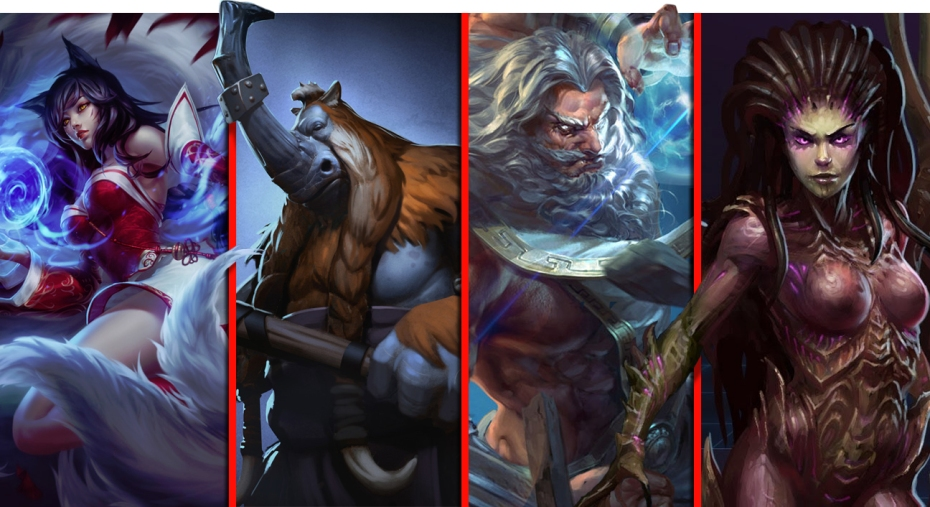 Image Result For Comparing Mobas Dota Vs League Of Legends Vs Heroes