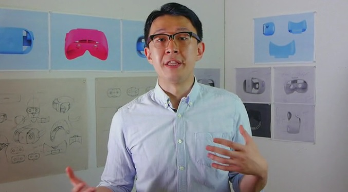 Tony Yi, founder of Paralo, maker of the Play VR headset.