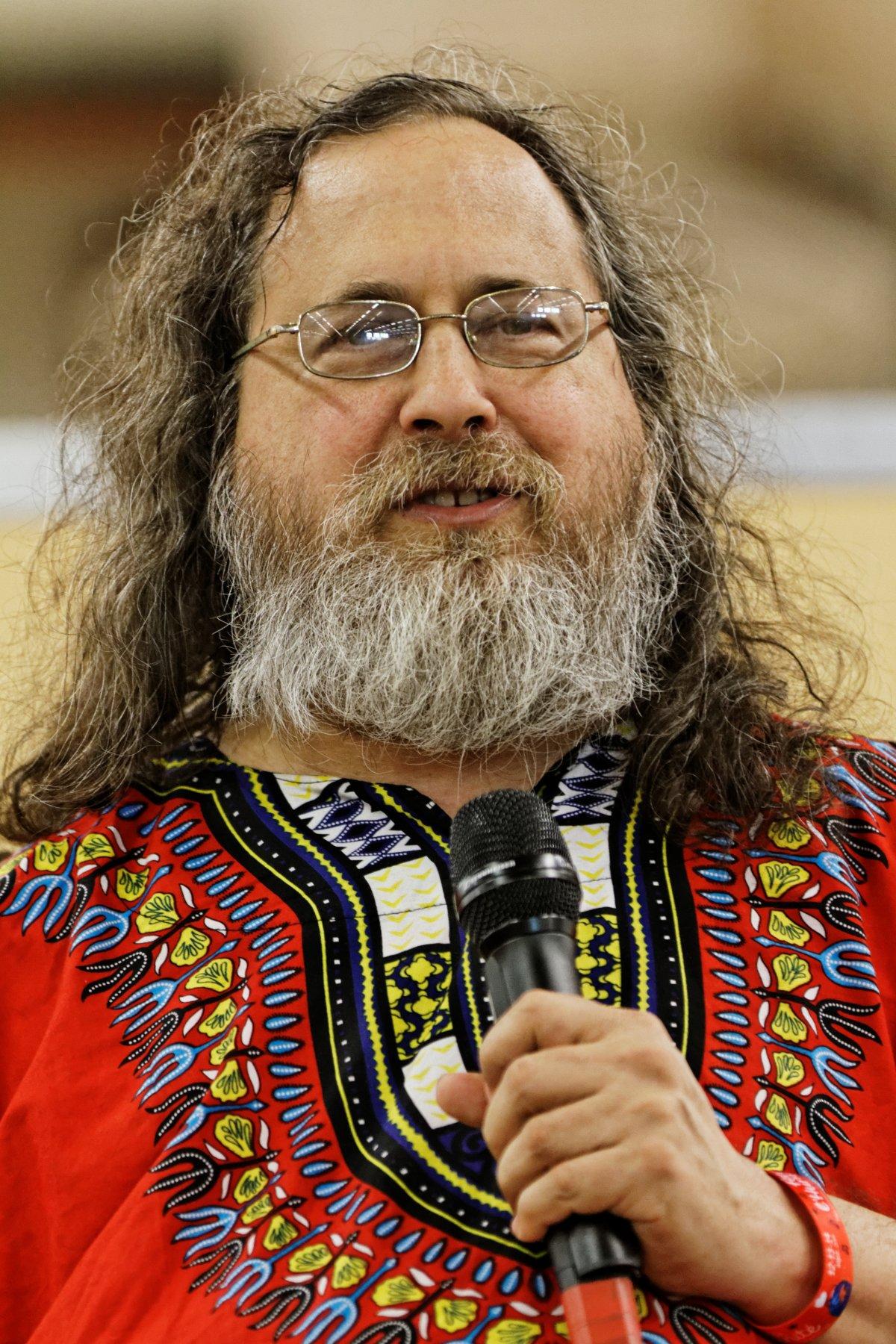 Richard Stallman, software freedom fighter