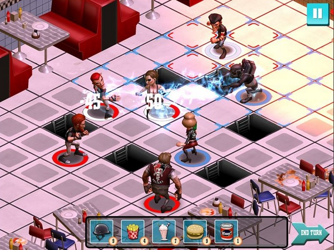 Rumble City could be nicknamed Biker Chess.