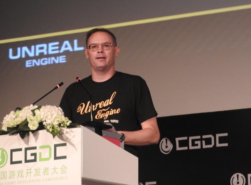 Tim Sweeney, CEO of Epic Games.