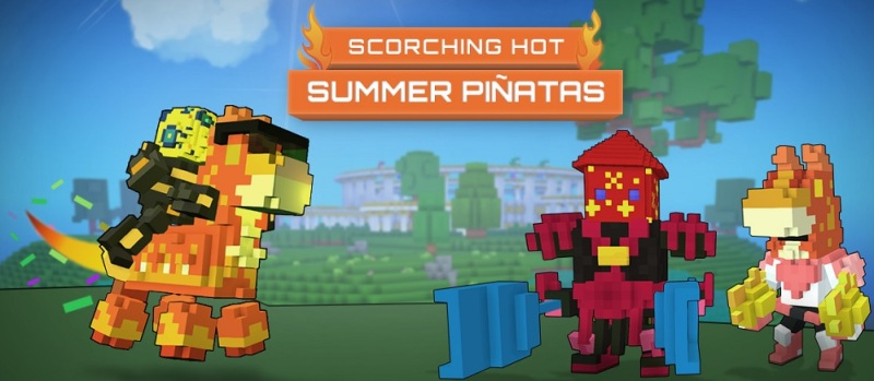 Trove lets you smash open piñatas to get good stuff.