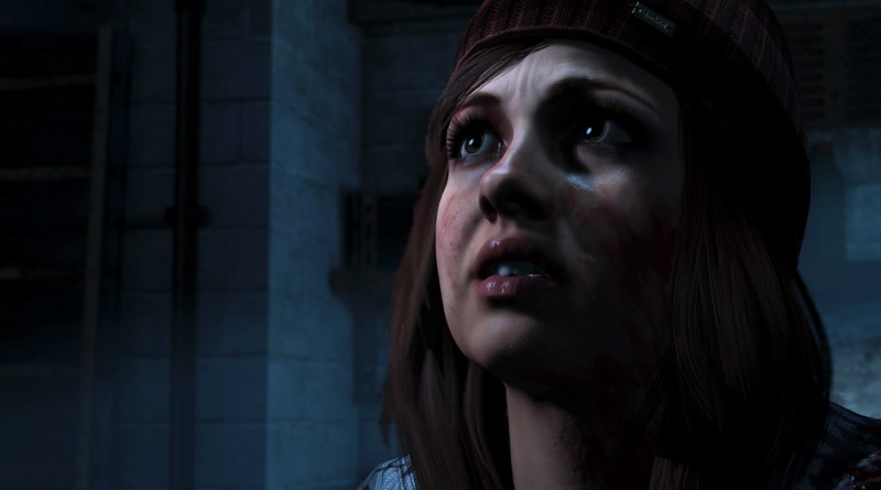 Check out this character's eyes in Until Dawn. You have help eight teens survive the night.