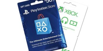 PSN and Xbox Live digital gift cards gets 15% cut from PayPal