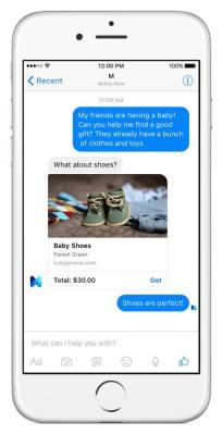 Facebook M personal digital assistant