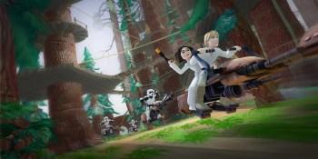 Disney Infinity lets Star Wars fans catapult Ewoks