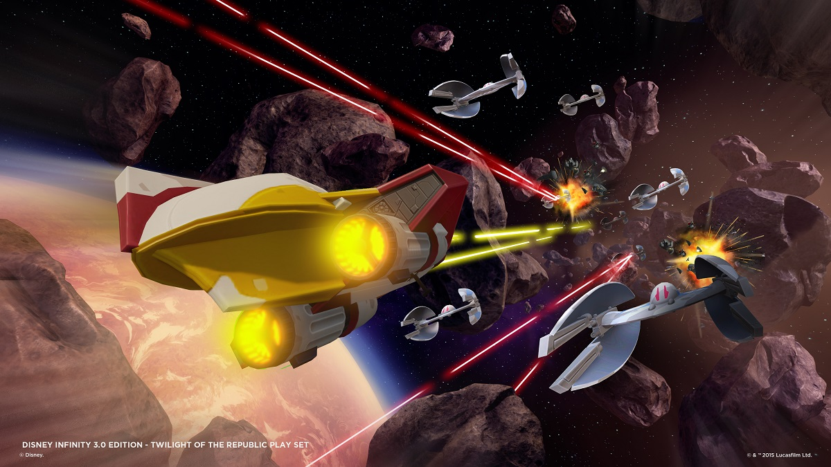 Space combat isn't overly complicated, but it provides a nice change of pace.