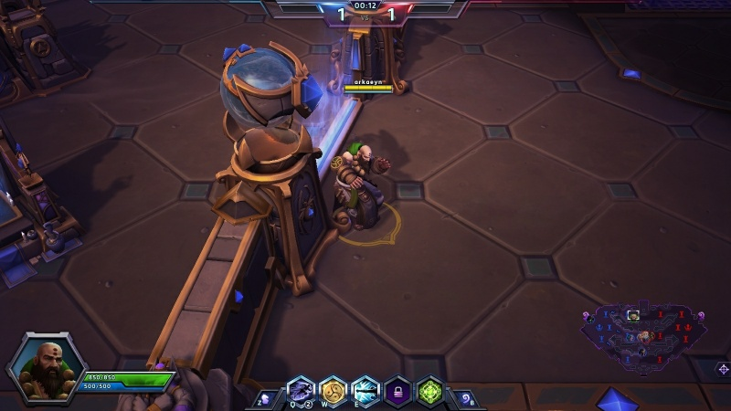 Kharazim Heroes of the Storm action