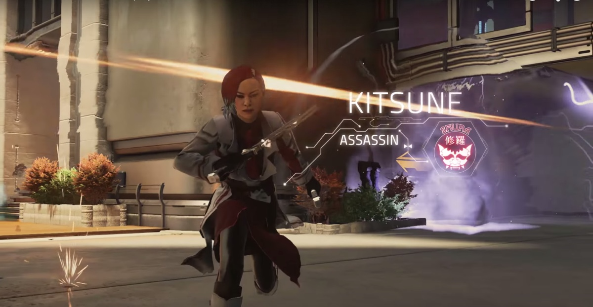Kitsune is an assassin character in Boss Key Production's Lawbreakers.