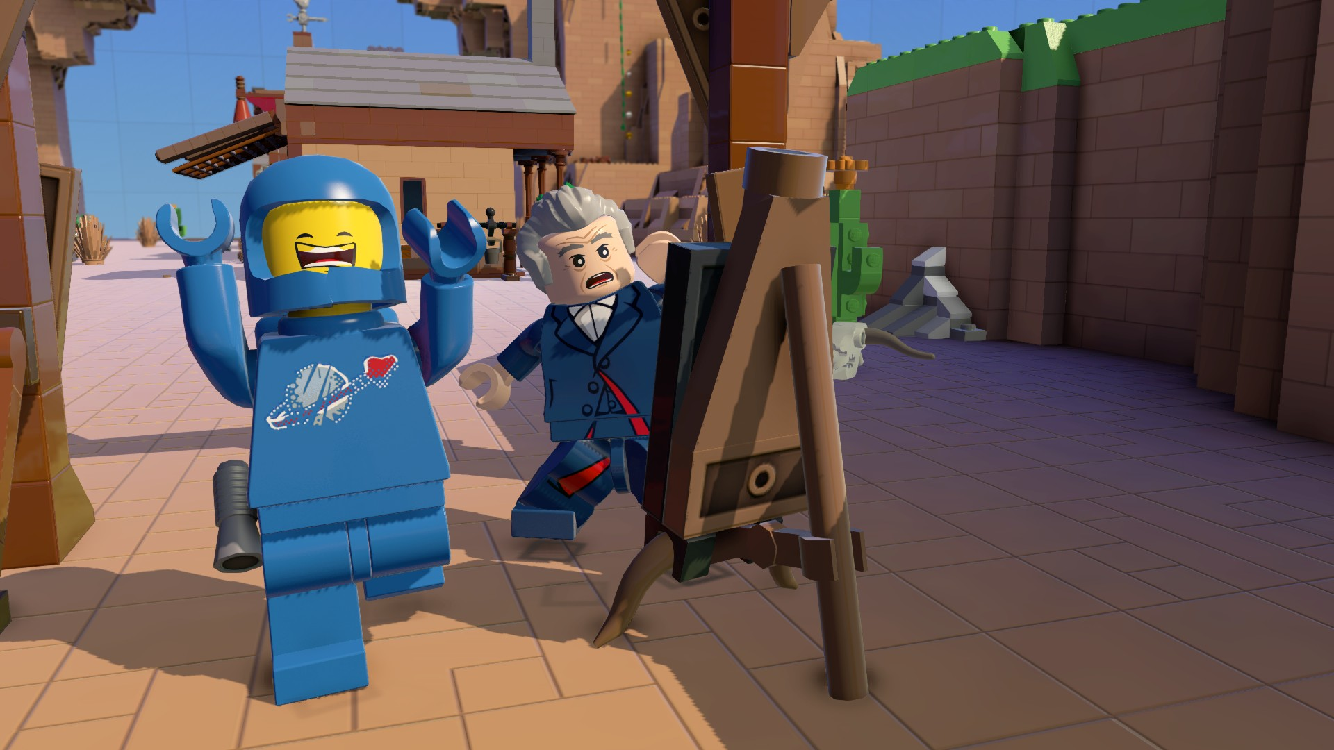 Who got Dr. Who into my Lego Movie!