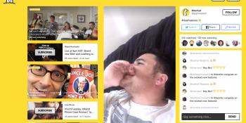 Meerkat now lets you poll viewers, search by hashtags, and share photos from your camera roll