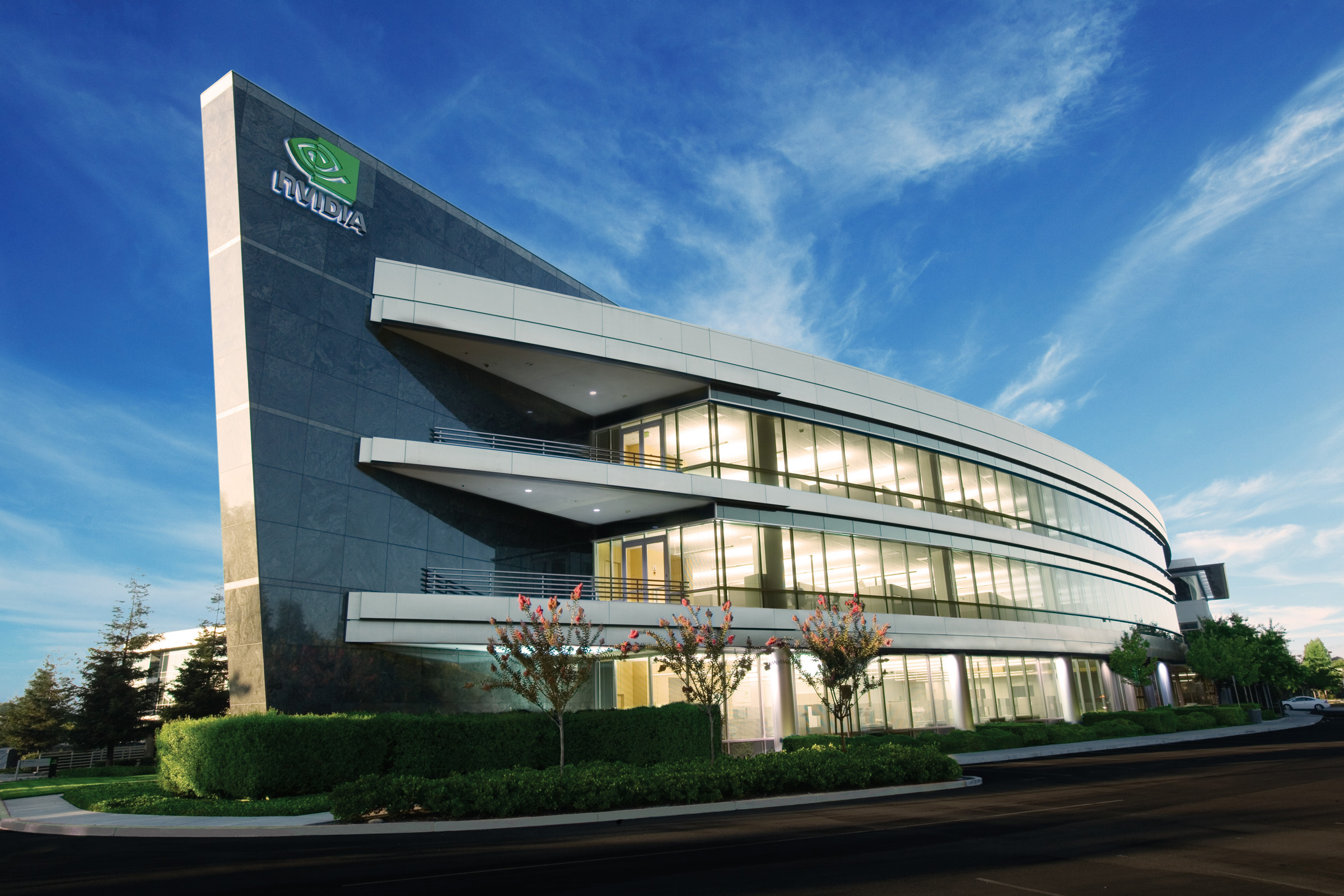 Nvidia headquarters in Santa Clara, Calif.
