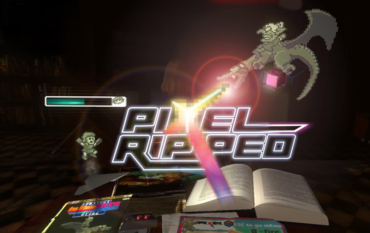 Pixel Ripped is a super clever game-within-a-game for VR devices.