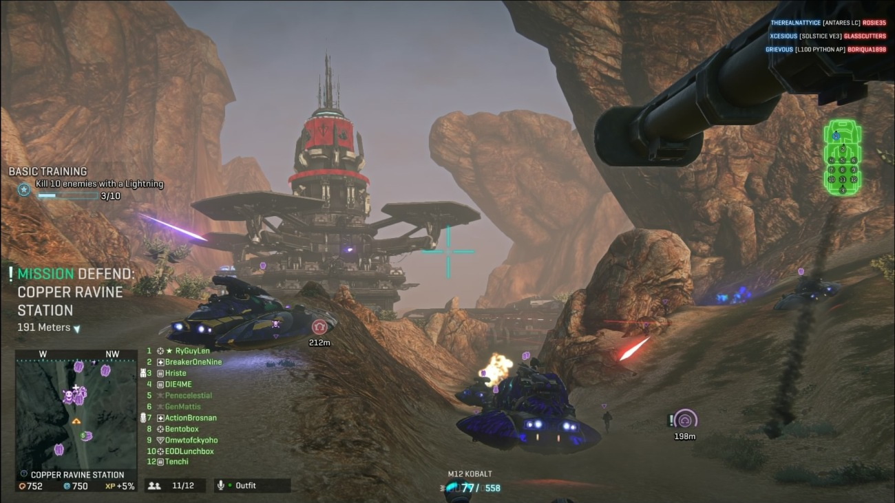 Planetside 2 on PS4