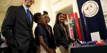 President Obama unveils initiative to bring computer science to more schools