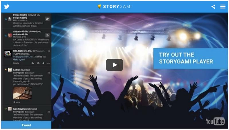 Storygami screenshot
