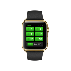 Square Cash for Apple Watch