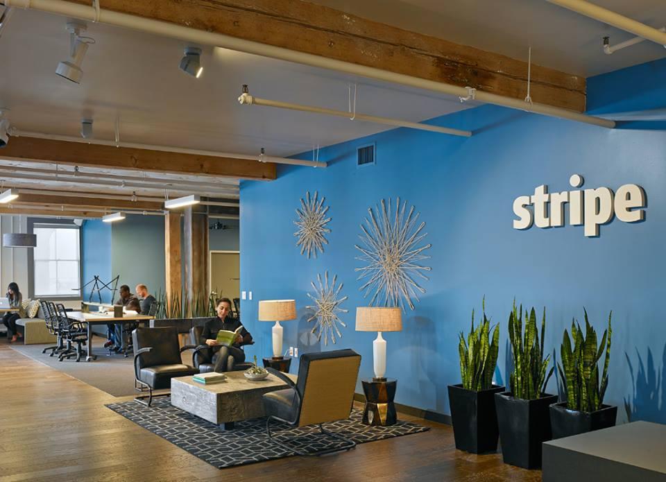 Stripe's San Francisco office.