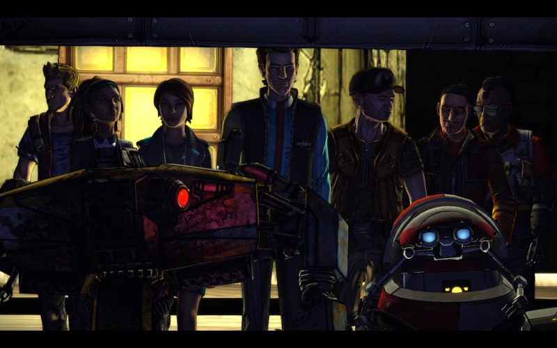 Tales from the Borderlands Episode 4 - Shuttle walk