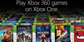 Microsoft releases list of first 104 Xbox 360 backward compatibility games for Xbox One