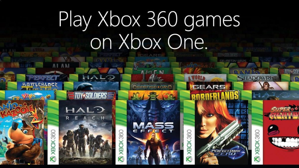 8427b3635df Microsoft releases list of first 104 Xbox 360 backward compatibility games  for Xbox One | VentureBeat
