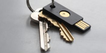 A YubiKey Neo USB key from Yubico.