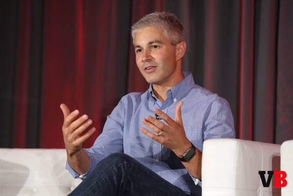 American Eagle Outfitters chief digital officer Joe Megibow speaking today at VentureBeat's GrowthBeat
