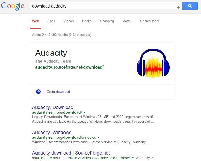 audacity-sourceforge
