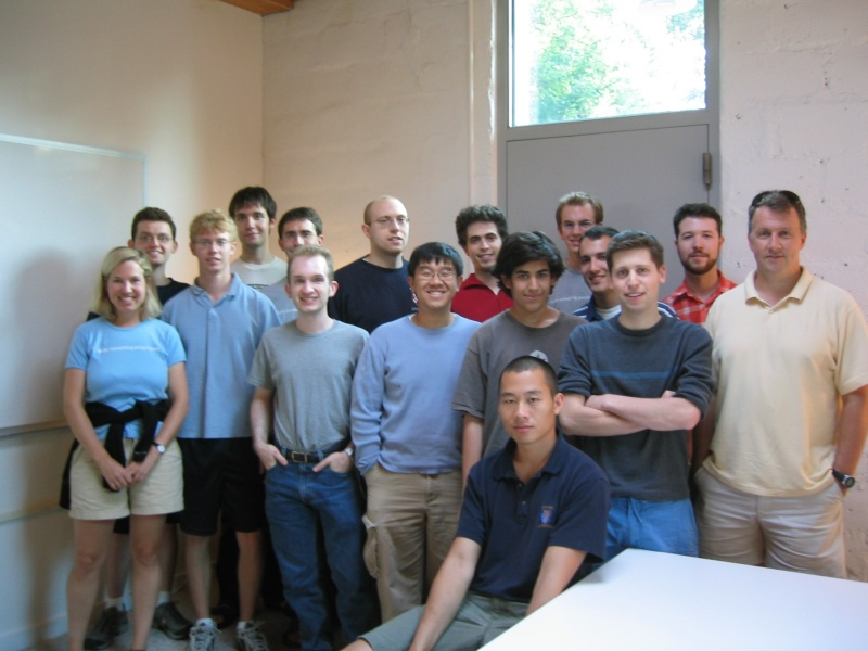 Y Combinator's inaugural batch of startups
