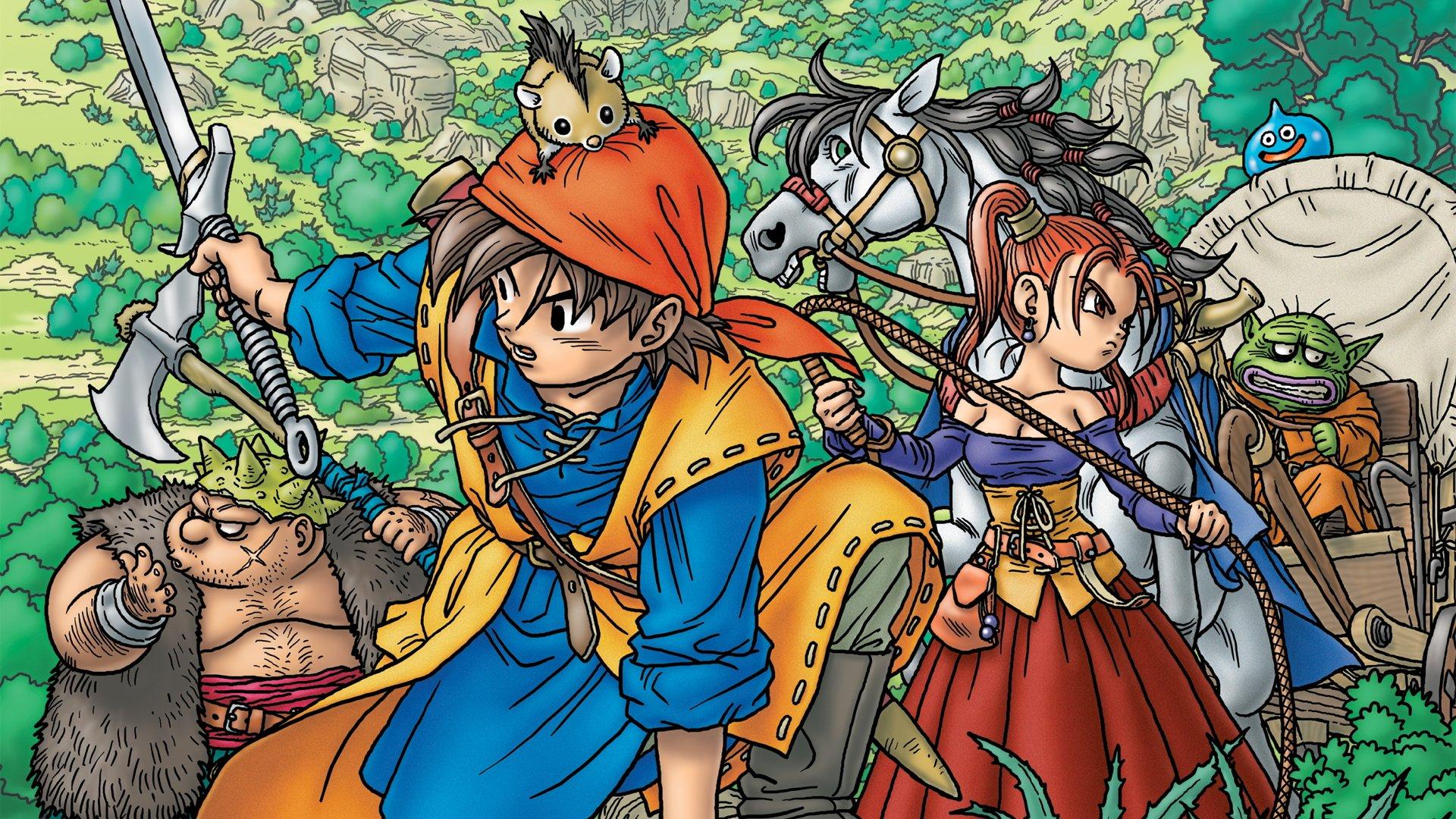 Level-5's Dragon Quest VIII.