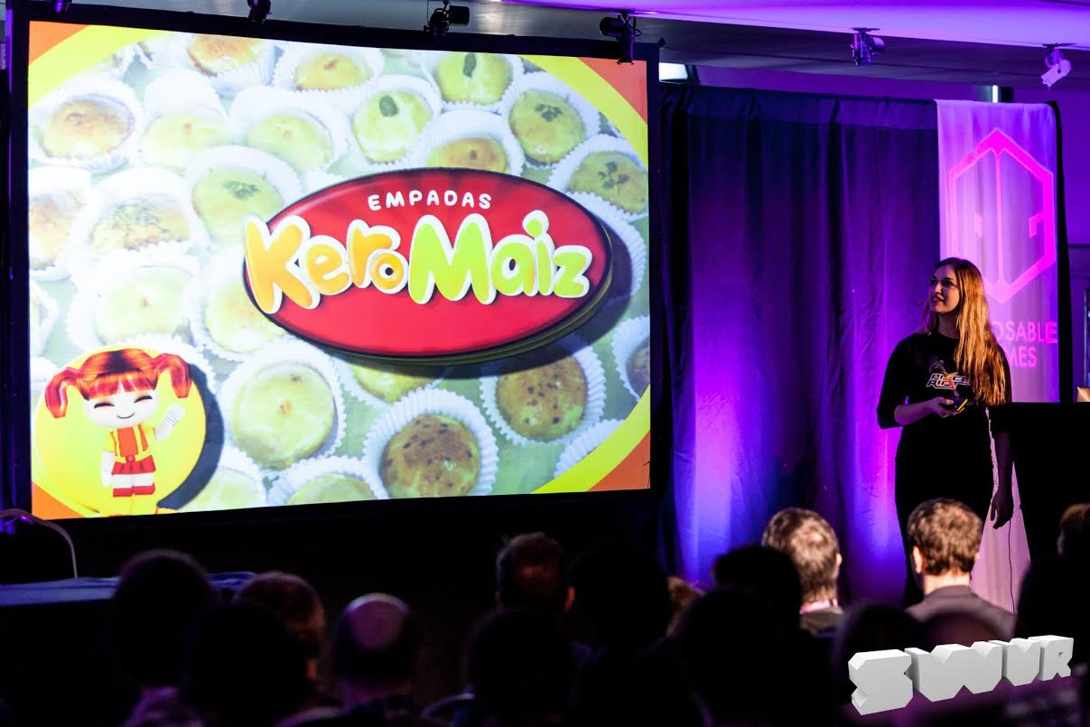 Ribeiro has been talking about her journey into game design at a number of industry events.