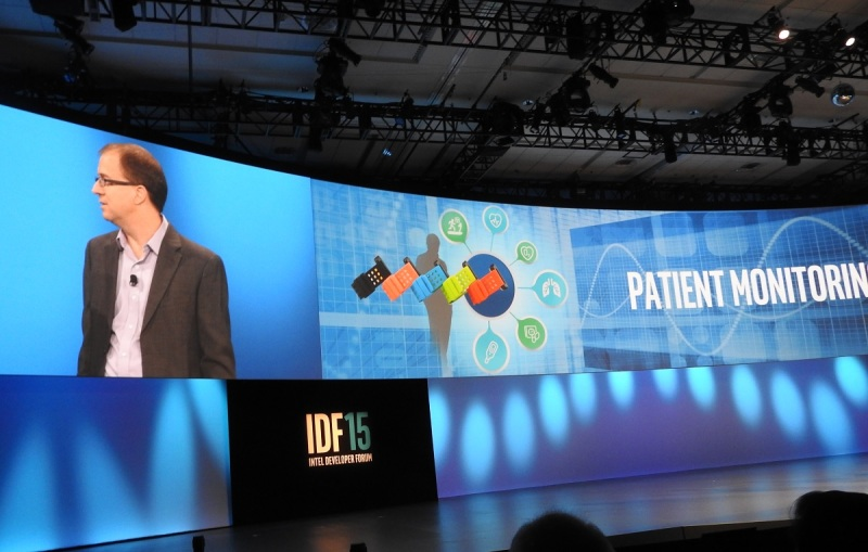 Eric Dishman, health executive at Intel, at IDF.
