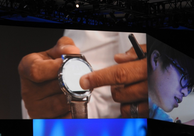 Fossil's latest smartwatch with Intel technology.