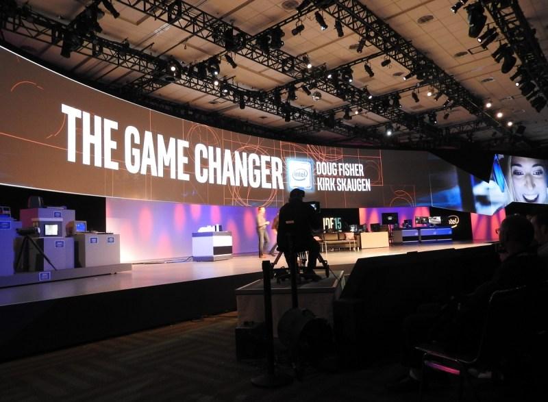 Intel game changer talk at IDF.