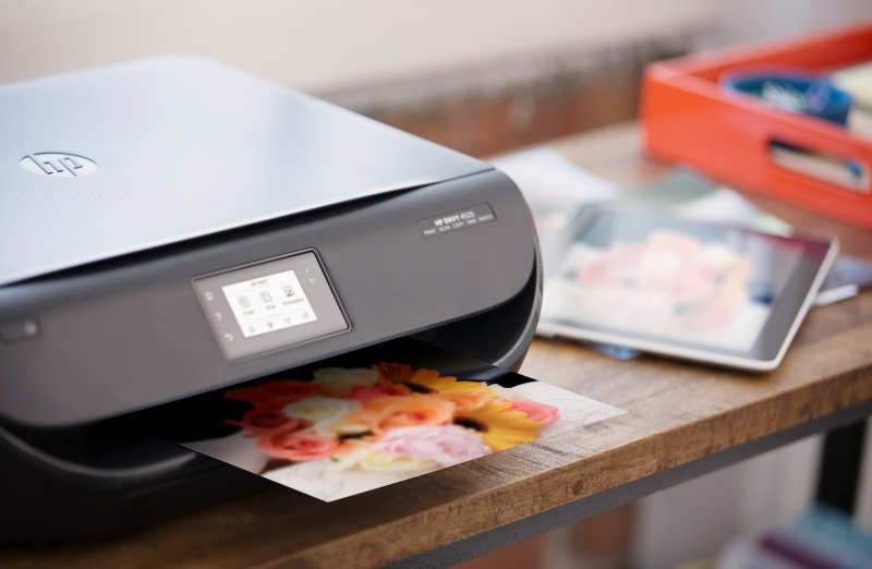 HP Envy 4520 all-in-one printer.