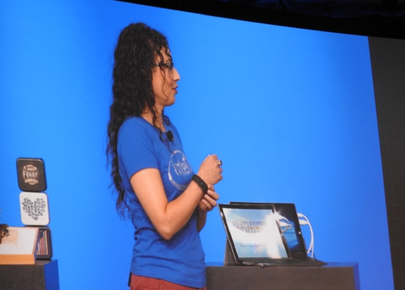 The fall 2015 Intel Developer Forum featured more women on stage.