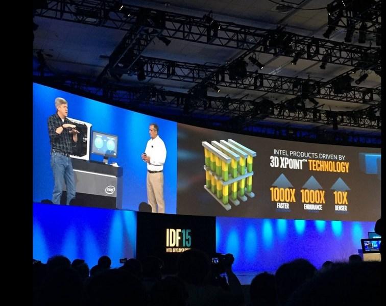 Intel Optane demo