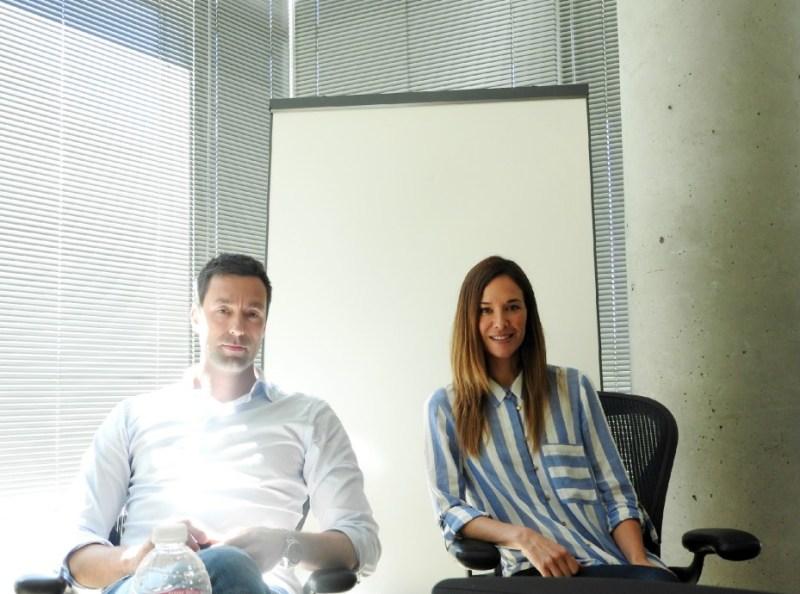 Patrick Soderlund and Jade Raymond of Electronic Arts.