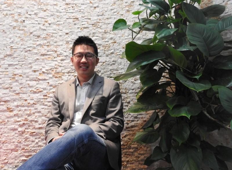 Kevin Chou, CEO of Kabam, at ChinaJoy in Shanghai.
