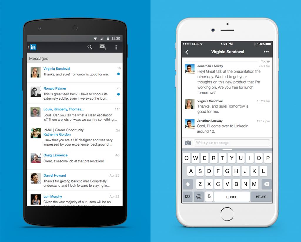 linkedin messaging experience 1