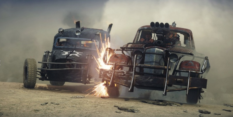Car combat in Mad Max the game.